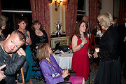 LEE PEARSON; ANNE DUNHAM; NATASHA BAKER; CAMILLA DUCHESS OF CORNWALL, The Lady Joseph Trust, fundraising party.<br /> Camilla, Duchess of Cornwall  attends gala fundraising event as newly appointed President of the charity. The Lady Joseph Trust was formed in 2009 to raise funds to acquire horses for the UKÕs top Paralympic riders Cavalry and Guards Club, 127 Piccadilly, London,<br /> 26 October 2011. <br /> <br />  , -DO NOT ARCHIVE-© Copyright Photograph by Dafydd Jones. 248 Clapham Rd. London SW9 0PZ. Tel 0207 820 0771. www.dafjones.com.<br /> LEE PEARSON; ANNE DUNHAM; NATASHA BAKER; CAMILLA DUCHESS OF CORNWALL, The Lady Joseph Trust, fundraising party.<br /> Camilla, Duchess of Cornwall  attends gala fundraising event as newly appointed President of the charity. The Lady Joseph Trust was formed in 2009 to raise funds to acquire horses for the UK's top Paralympic riders Cavalry and Guards Club, 127 Piccadilly, London,<br /> 26 October 2011. <br /> <br />  , -DO NOT ARCHIVE-© Copyright Photograph by Dafydd Jones. 248 Clapham Rd. London SW9 0PZ. Tel 0207 820 0771. www.dafjones.com.