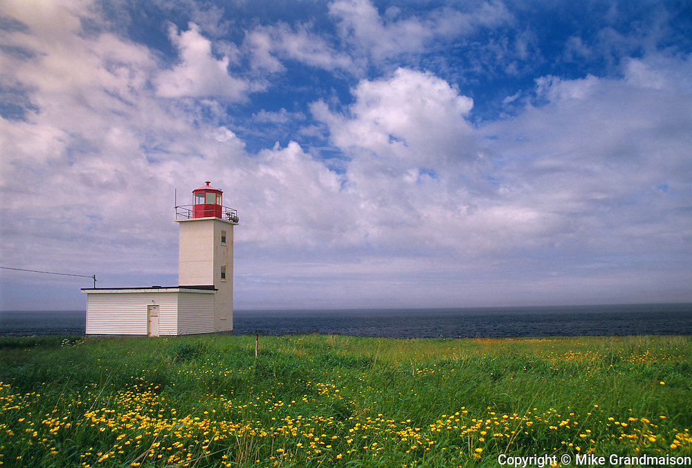 Cape St. Mary Lighthouse <br /> Cape St. Mary<br /> Nova Scotia<br /> Canada