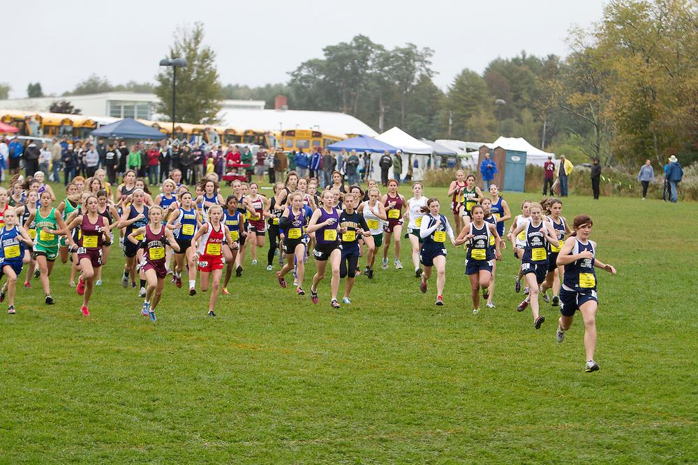 Festival of Champions High School Cross Country meet, girls start