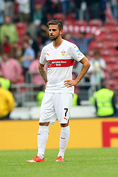26.09.2015, Mercedes Benz Arena, Stuttgart, GER, 1. FBL, VfB Stuttgart vs Borussia Moenchengladbach, 7. Runde, im Bild Martin Harnik ( VfB Stuttgart ) frustriert // during the German Bundesliga 7th round match between VfB Stuttgart and Borussia Moenchengladbach at the Mercedes Benz Arena in Stuttgart, Germany on 2015/09/26. EXPA Pictures © 2015, PhotoCredit: EXPA/ Eibner-Pressefoto/ Langer<br /> <br /> *****ATTENTION - OUT of GER*****