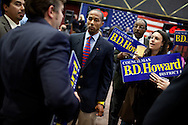 Former City Council staffer B.D. Howard came in third place in the San Diego City Council's District 8 election, June 8, 2010. Fewer than 200 votes separated Howard from second-place candidate Felipe Hueso, who will face top finisher David Alvarez in a runoff election in November.