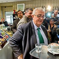 Mario Borghezio a Tor Sapienza