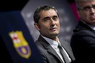 Barcelona: FC Barcelona's new head coach Ernesto Valverde 1st June 2017
