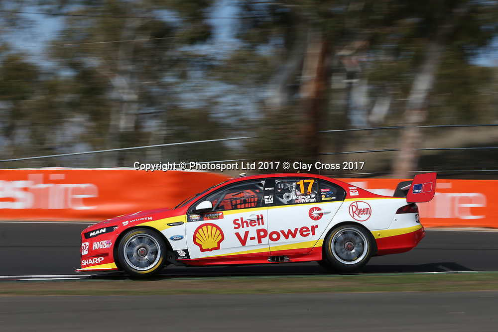 SCOTT MCLAUGHLIN / ALEXANDRE PREMAT (Shell Penske Ford). Supercheap Auto Bathurst 1000. 2017 Virgin Australia Supercars Championship Round 11. Mount Panorma, Bathurst NSW 5 October 2017. Photo Clay Cross / photosport.nz