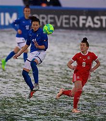 CESENA, ITALY - Tuesday, January 22, 2019: Italy's Ilaria Mauro during the International Friendly between Italy and Wales at the Stadio Dino Manuzzi. (Pic by David Rawcliffe/Propaganda)