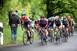 Sofie De Vuyst (BEL) of Parkhotel Valkenburg Cycling Team leads the peloton on the first climb on Stage 1 of 2019 Festival Elsy Jacobs, a 107.1 km road race starting and finishing in Steinfort, Luxembourg on May 11, 2019. Photo by Balint Hamvas/velofocus.com