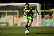 Kyle Taylor of Forest Green Rovers on the attack during the EFL Sky Bet League 2 match between Forest Green Rovers and Stevenage at the New Lawn, Forest Green, United Kingdom on 21 September 2019.