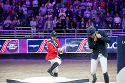 Ward Mclain, USA, Duguet Romain, SUI, Von Eckermann Henrik, SWE<br /> Longines FEI World Cup Jumping Final IV, Omaha 2017 <br /> © Hippo Foto - Stefan Lafrentz<br /> 02/04/2017