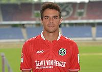 German Soccer Bundesliga 2015/16 - Photocall of Hannover 96 on 13 July 2015 in Hanover, Germany: Manuel Schmiedebach