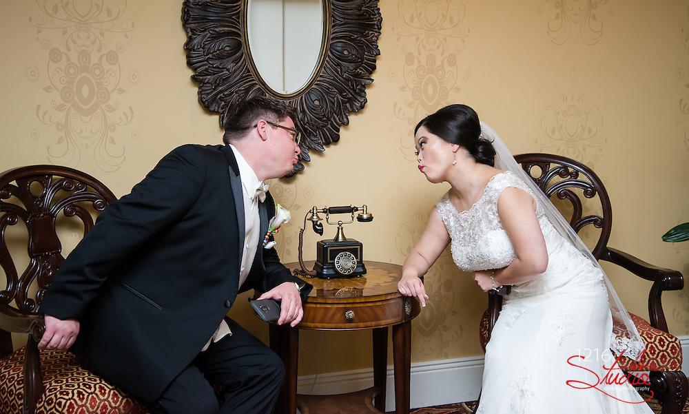 Erik & Sarah Wedding Album | The Roosevelt and Federal Ballroom | 1216 Studio Wedding Photography