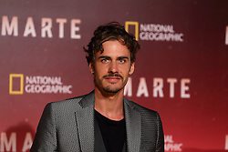 November 8, 2016 - Roma, RM, Italy - Italian actor Raniero Monaco Di Lapio during Red Carpet of the premier of Mars, the largest production ever made by National Geographic (Credit Image: © Matteo Nardone/Pacific Press via ZUMA Wire)