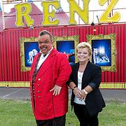 NLD/Amsterdam/20120813 - Premiere Sensations van Circus Herman Renz, clown Milko Renz en Anneke Olivieer