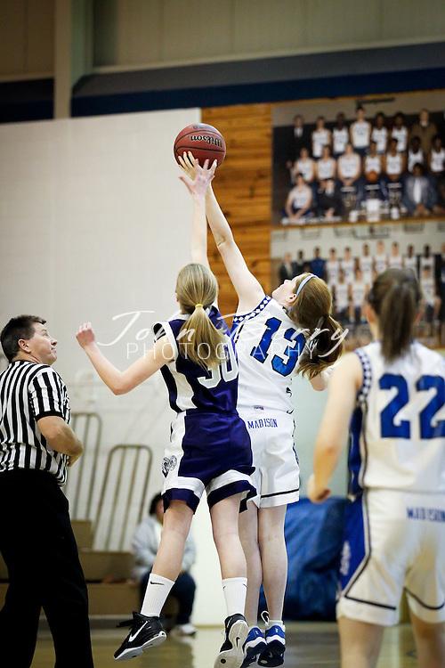 January/31/12:  MCHS JV Girls Basketball vs Strasburg.  Senior Night, Parent's Night.  Madison defeated Strasburg 43-35.