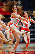 CHAMPAIGN, IL - FEBRUARY 21: Illinois Fighting Illini dancers are seen during the game against the Northwestern Wildcats at State Farm Center on February 21, 2017 in Champaign, Illinois.  (Photo by Michael Hickey/Getty Images)