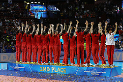 TEAM CHINA<br /> AWARDING CEREMONY<br /> VOLLEYBALL WOMEN'S WORLD CHAMPIONSHIP 2014<br /> MILAN 12-10-2014<br /> PHOTO BY FILIPPO RUBIN