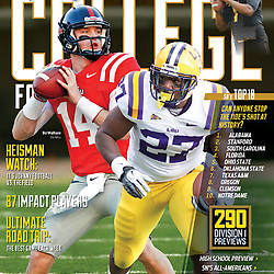 Sporting News College Football National Edition - LSU - Ole Miss - Bo Wallace