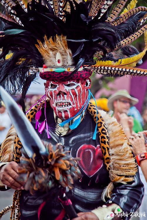 Shaka Zulu Tribe.  St. John Carnival 2012 © Aisha-Zakiya Boyd