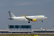 Vueling Airlines Airbus A320-200 (EC-LVX) at Malpensa (MXP / LIMC), Milan, Italy
