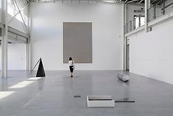 Art installations by Iman Issa at 2015 Sharjah Biennial art festival in Sharjah united Arab Emirates