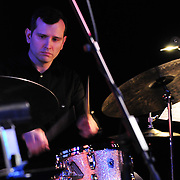 Drummer Mike Walsh performing with members of the PMAC Jazz Faculty at The Music Hall Loft in Portsmouth, NH