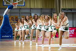Green Ladies during basketball match between KK Petrol Olimpija and KK Sixt Primorska at Superpokal 2018, on September 24, 2018 in Hala Tivoli, Ljubljana, Slovenia. Photo by Urban Urbanc / Sportida