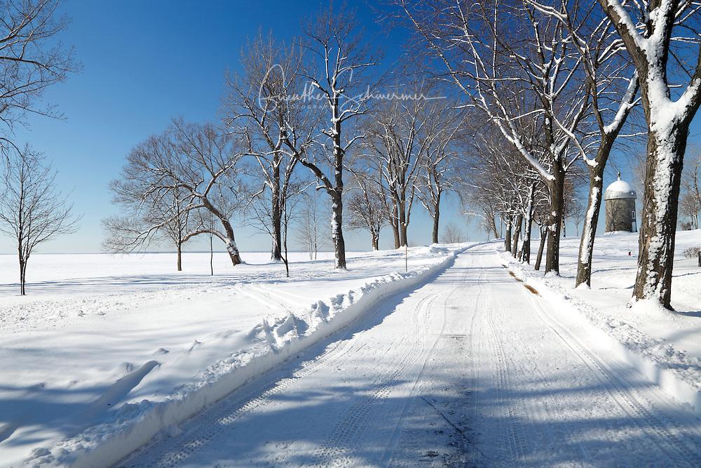 Winter at Manoir D' Youville, Saint Bernard Island, Chateauguay, Quebec, Canada