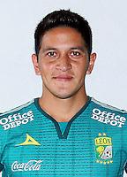 Mexico League - BBVA Bancomer MX 2015-2016 - <br /> Los Panzas Verdes - Club Leon Futbol Club / Mexico - <br /> German Ezequiel Cano Recalde