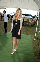 SIENNA MILLER at the 2005 Cartier International Polo between England & Australia held at Guards Polo Club, Smith's Lawn, Windsor Great Park, Berkshire on 24th July 2005.<br /><br />NON EXCLUSIVE - WORLD RIGHTS