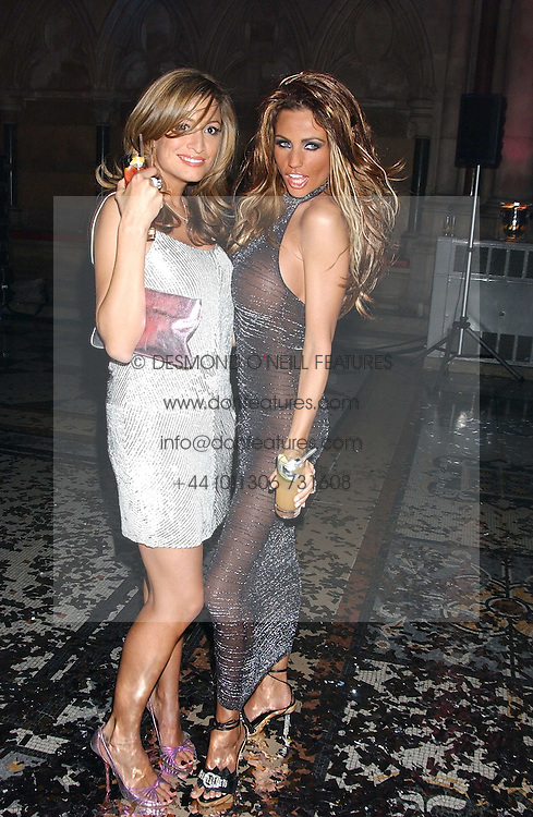 Left to right, REBECCA LOOS and JORDAN at Andy & Patti Wong's annual Chinese New Year party, this year celebrating the year of the dog held at The Royal Courts of Justice, The Strand, London WC2 on 28th January 2006.<br />