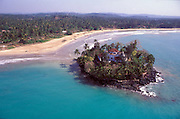 Sri Lanka..The island of Taprobane just off Weligama bay. South Coast of the island between Galle and Matara.