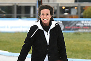 Kick-off De Hollandse 100 2019 van Lymph&Co bij de Jaap Eden IJsbaan in Amsterdam.Lymph&Co is een initiatief van Bernhard van Oranje en heeft als doel de financiering van wetenschappelijk onderzoek naar de aard en behandeling van lymfklierkanker te steunen. <br /> <br /> Op de foto:  Prinses Annette
