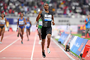 Caster Semnya (RSA) wins the women's 800m in 1:54.98 during the IAAF Doha Diamond League 2019 at Khalifa International Stadium, Friday, May 3, 2019, in Doha, Qatar