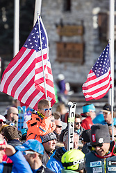 03.12.2016, Val d Isere, FRA, FIS Weltcup Ski Alpin, Val d Isere, Abfahrt, Herren, im Bild Fans // supporter reacts during the race of men's Downhill of the Val d'Isere FIS Ski Alpine World Cup. Val d'Isere, France on 2016/12/03. EXPA Pictures © 2016, PhotoCredit: EXPA/ Johann Groder