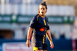 Sioned Harries of Worcester Warriors Women - Mandatory by-line: Robbie Stephenson/JMP - 01/12/2019 - RUGBY - Sixways Stadium - Worcester, England - Worcester Warriors Women v Bristol Bears Women - Tyrrells Premier 15s
