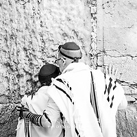 25.12.2017 <br /> Noah Namdar Bar Mitzvah at the Western Wall, Jerusalem.