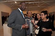 Tidjane Thiam , Indonesian Eye Contemporary Art Exhibition Reception, Saatchi Gallery. London. 9 September 2011. <br /> <br />  , -DO NOT ARCHIVE-© Copyright Photograph by Dafydd Jones. 248 Clapham Rd. London SW9 0PZ. Tel 0207 820 0771. www.dafjones.com.