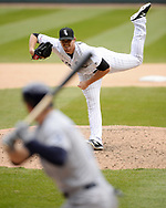 CHICAGO - APRIL 09:  Caleb Frare #53 of the Chicago White Sox pitches against the Tampa Bay Rays on April 9, 2019 at Guaranteed Rate Field in Chicago, Illinois.  (Photo by Ron Vesely)  Subject:   Caleb Frare