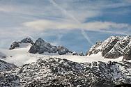 Hoher Dachstein and Dachstein Glacier. Dachstein, Salzkammergut, Austria © Rudolf Abraham