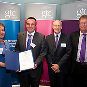 Images from the 2014 GTSC Probabtion Event Pictured are Jackie Brock (Chief Executive of Children First), Gary Byrne (Aberdeenshire),,Ken Muir (Chief Executive GTCS) and Derek Thompson (Convener GTCS). Thursday 12th June 2014.
