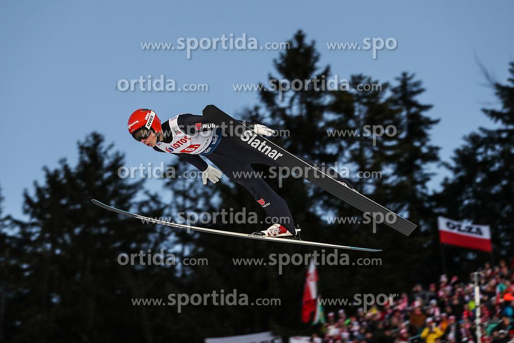 25.01.2020, Wielka Krokiew, Zakopane, POL, FIS Weltcup Skisprung, Zakopane, Herren, Teambewerb, im Bild Constantin Schmid (GER) // during the team competition of FIS Ski Jumping world cup at the Wielka Krokiew in Zakopane, Poland on 2020/01/25. EXPA Pictures © 2020, PhotoCredit: EXPA/ Tadeusz Mieczynski