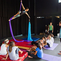 Aerial Silks at Montessori