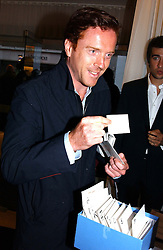 Actor DAMIAN LEWIS at a party at The Sanderson Hotel, Bernnnnners Street, London in aid of Sargent Cancer Care for Children on 7th July 2004.