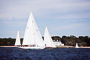 Black Watch sailing in the Indian Harbor Classic Yacht Regatta.