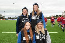 Bristol Bears Women ball technicians - Mandatory by-line: Paul Knight/JMP - 03/11/2018 - RUGBY - Shaftesbury Park - Bristol, England - Bristol Bears Women v Saracens Women - Tyrrells Premier 15s