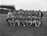04/08/1957<br /> 08/04/1957<br /> 4 August 1957<br /> Leinster Final: Wexford v Kilkenny at Croke Park, Dublin. Kilkenny Team.
