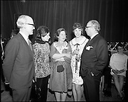 20/04/1970<br /> 04/20/1970<br /> 20 April 1970<br /> Tynagh Mines Dinner Dance at Loughrea, Co. Galway. Mr. AMR Sylvester?, Directer IBM IIrish Base Metals); Mrs Sylvester; Mrs M.V. O'Brien; Mrs R. Shultz and Mr Evan T. Gill, Canadian Ambassador to Ireland.