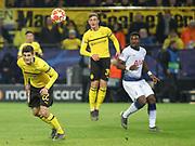 Christian Pulisic of Borussia Dortmund during the Champions League round of 16, leg 2 of 2 match between Borussia Dortmund and Tottenham Hotspur at Signal Iduna Park, Dortmund, Germany on 5 March 2019.