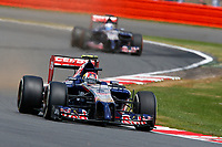 KVYAT Daniil (Rus) Toro Rosso Str9 Renault Action  during the 2014 Formula One World Championship, Grand Prix of Great Britain from july 3 to 6th 2014, in Silverstone, United Kingdom. Photo Florent Gooden / DPPI