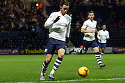 Preston North End Striker Will Keane during the Sky Bet Championship match between Preston North End and Birmingham City at Deepdale, Preston, England on 15 December 2015. Photo by Pete Burns.