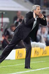 19.08.2011,  BorussiaPark, Mönchengladbach, GER, 1.FBL, Borussia Mönchengladbach vs Vfl Wolfsburg, im Bild.Lucien Favre (Trainer Mönchengladbach)..// during the 1.FBL, Borussia Mönchengladbach vs Vfl Wolfsburg on 2011/08/19, BorussiaPark, Mönchengladbach, Germany. EXPA Pictures © 2011, PhotoCredit: EXPA/ nph/  Mueller *** Local Caption ***            ****** out of GER / CRO  / BEL ******